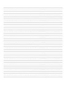 Free Blank Writing Paper Handwriting Practice Paper Viewing Gallery