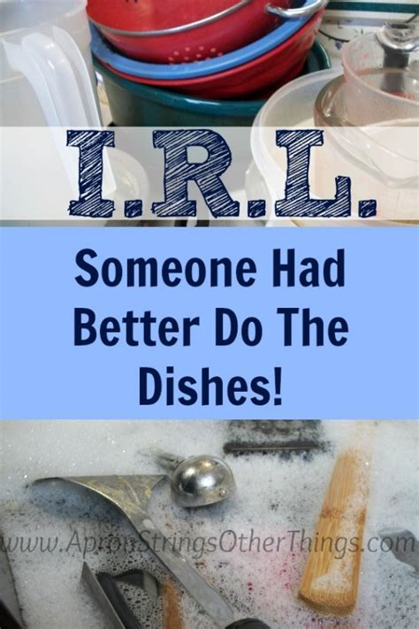 had better do i r l someone had better do the dishes