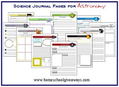 free printable science journal pages free printable science journal pages free homeschool deals