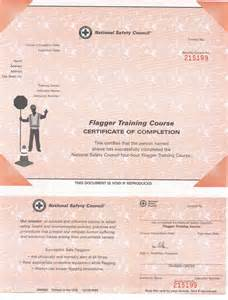 flagger certification and training the national work
