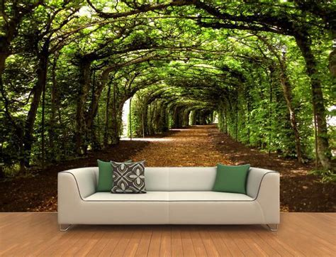 Wallpaper Dinding Sale 70126 custom 3d mural wall paper three dimensional large mural wallpaper trees bedroom living room