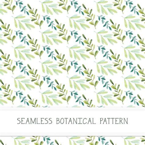 botanical pattern ai botanical pattern design vector free download