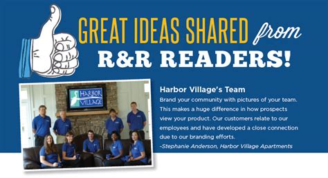 great ideas shared from r r readers rent retain