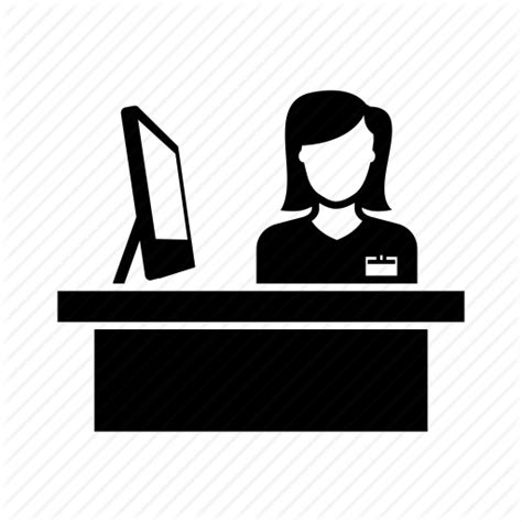Office Worker Icon Png Www Pixshark Com Images Office Desk Icon