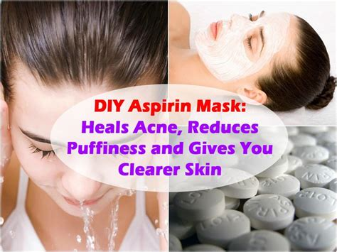 diy aspirin mask 124 best images about home remedy tips on aloe vera collagen and water