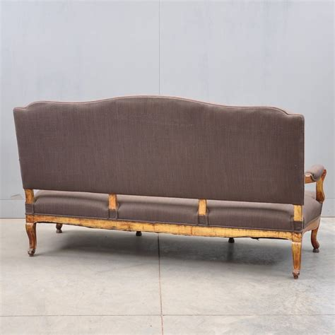 antique couches louis xv style settee de grande french antique furniture