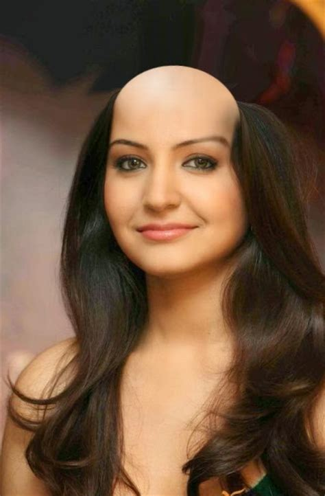 girl long headshave hair lovers bald indian actress