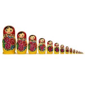 Wooden russian nesting dolls matryoshka nesting dolls bestpysanky