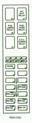 1997 mazda b 2300 fuse box diagram circuit wiring diagrams