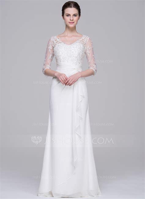 hochzeitskleid dicke oberarme vestidos princesa formato a decote v longos de chiffon