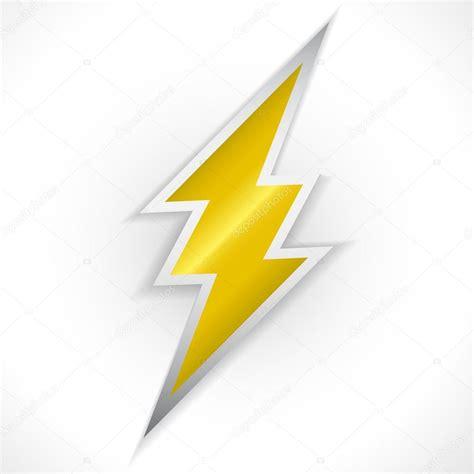 Chandeliers Sign Golden Lighting Thunder Sign Stock Vector 169 Jonnydrake 92349996