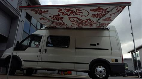 ford transit awning ford transit forum view topic new custom awning