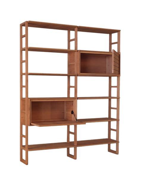 librerie in ciliegio scala zero libreria by morelato design centro ricerche maam