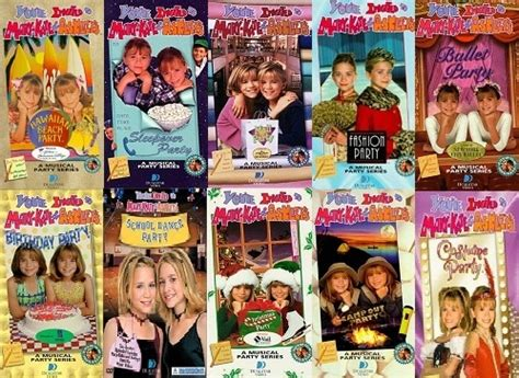 syd and i were obsessed with mary kate and ashley movies