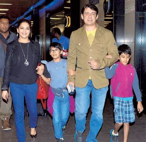 madhuri dixit movie evolution dr nene madhuri dixit and her two sons raayan and