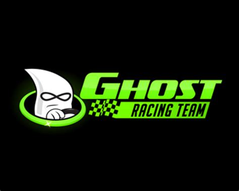 logo design entry number 95 by lcg | ghost racing team