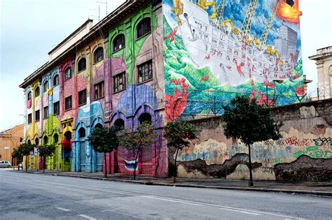 unusual     rome street art  ostiense