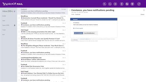 yahoo mail how to change layout yahoo mail update for all platforms launches ghacks