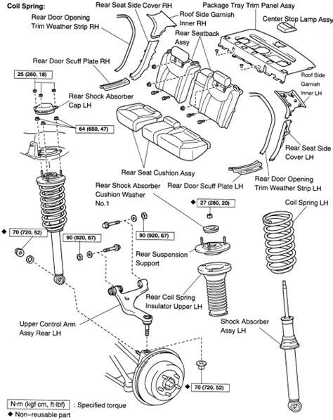 struts layout tags exles repair guides air suspension rear air suspension
