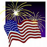 4th of July Clip art, Background and Web Graphics