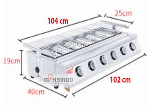 Oven Gas Di Bekasi jual pemanggang serbaguna gas bbq grill 8 tungku di