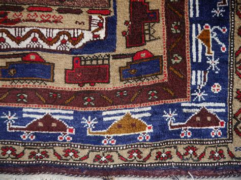 afghan war rugs vintage afghan war rug with tanks and helicopters for sale at 1stdibs