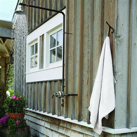 outdoor shower architects