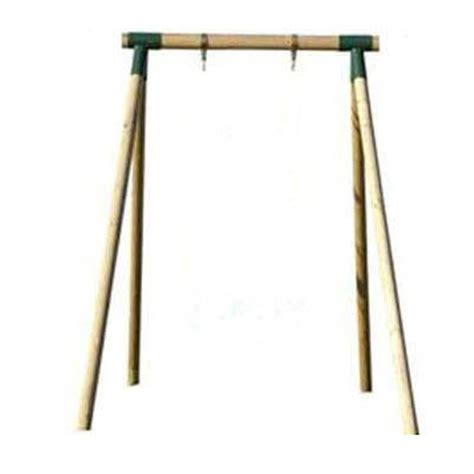 wooden swing frames countrywood single swing frame the outdoor toy centre
