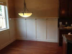 Craftsman Chair Rail - after photo craftsman wainscot pinterest craftsman style craftsman and dining rooms