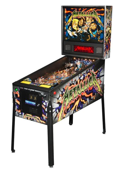 metallica pro pinball machine liberty