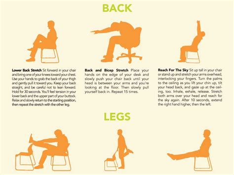 Exercise You Can Do At Work At Your Desk by Stretches You Can Do At Your Desk Business Insider