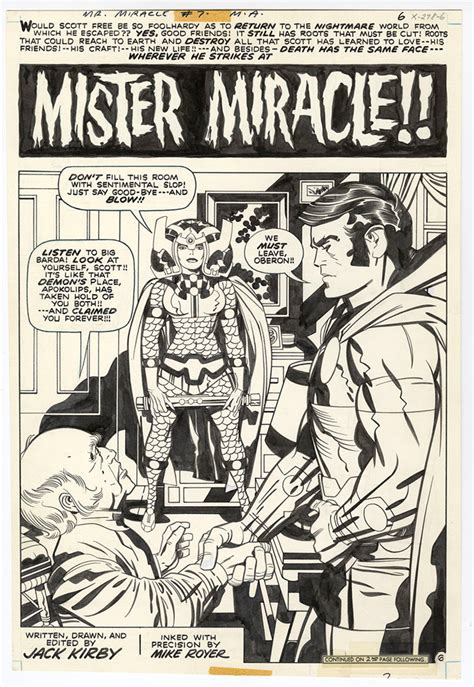 mister miracle by kirby new edition review kirby mister miracle artist s edition
