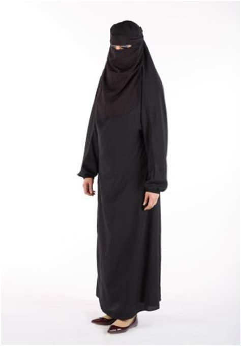 Plain Muslim Set muslim islamic length plain burka burqa with
