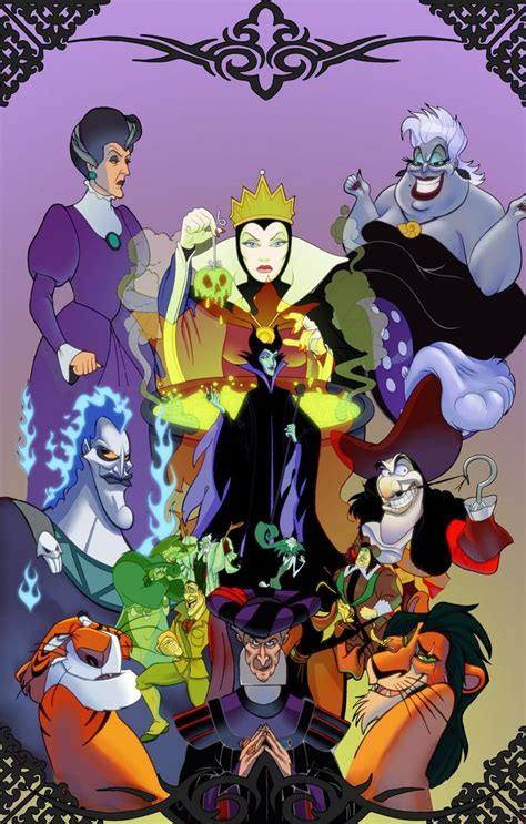 disney lock screen wallpaper disney villians artist unknown phone wallpaper