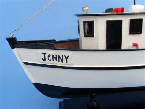 forrest gump boat forrest gump jenny shrimp boat 16 inch model fishing