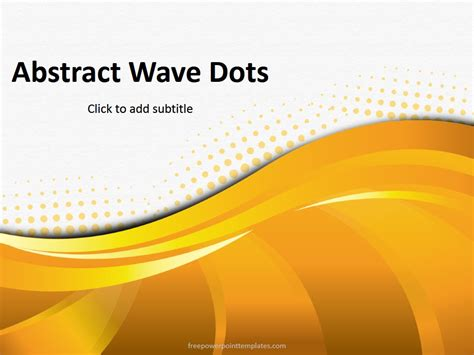abstract themes for powerpoint 2007 free download abstract orange dots powerpoint template
