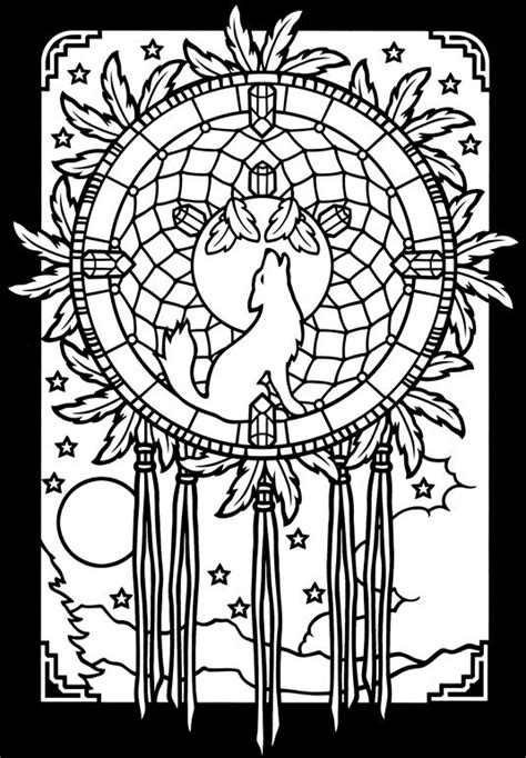 printable native art art mandala dream catcher coloring pages other art of
