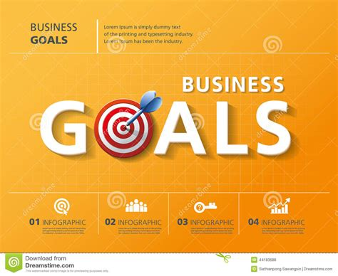 the goal a business graphic novel goals stock vector image 44183688