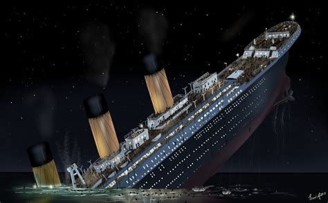 Titanic Sinking Reason by Reason The Titanic Sinking Marinerspotted