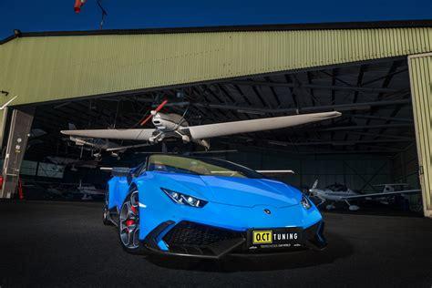 Supercharged Lamborghini Aventador by O Ct Tuning S Supercharged Lamborghini Huracan Pumps Out