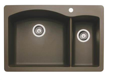 brown kitchen sink blanco cafe brown sink contemporary kitchen sinks by