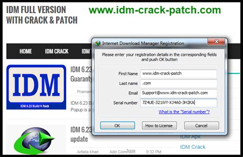how to crack idm full version in windows 7 internet download manager idm 6 25 serial keys 2015