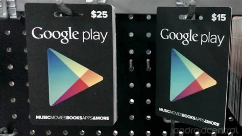 Google Play Gift Card Canada - google play gift cards now available in canada android in canada blog