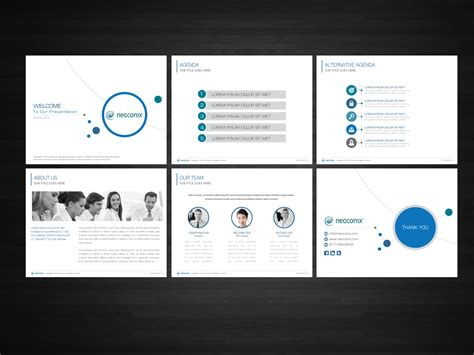 Corporate Design Powerpoint Vorlage Powerpoint Design For Aggarwal By Nila Design 4408385