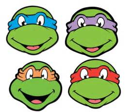 ninja turtles face pictures clipart best