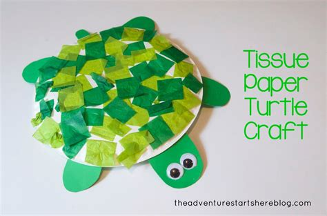 Turtle Paper Craft - turtle craft for toddlers the adventure starts here