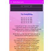 Shakira Try Everything Musica  Android Apps On Google Play