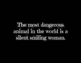 give gossip synonym the most dangerous animal in the world is a silent smiling
