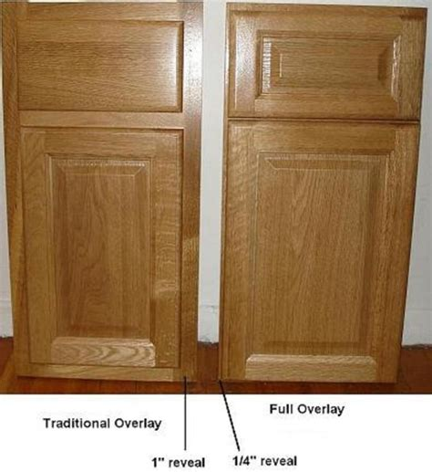 overlay cabinet doors traditional kitchen