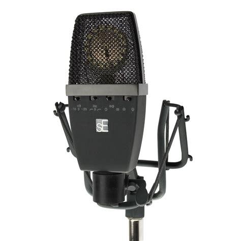 condenser microphone se electronics se4400a multi pattern studio condenser microphone dv247